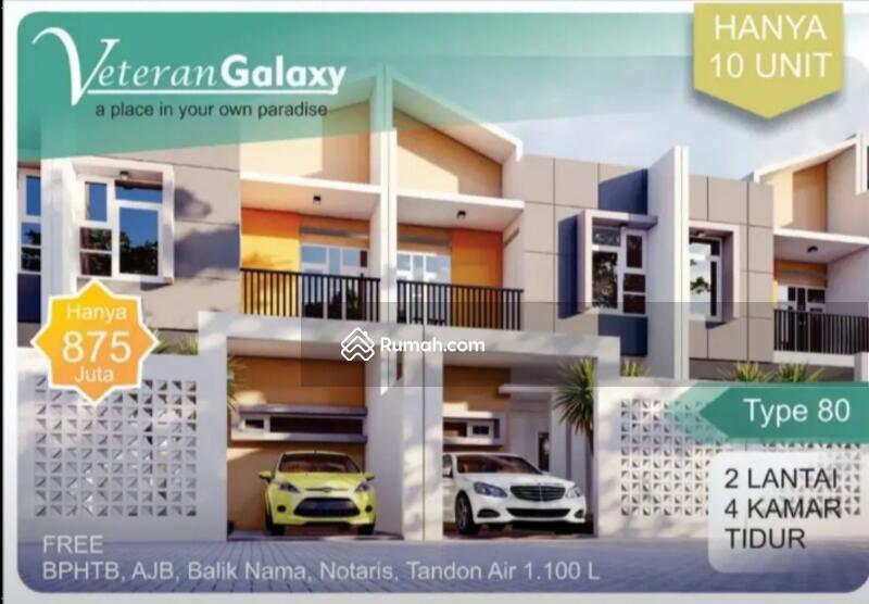 Rumah mewah minimalis 4 kamar tidur di tengah kota Makassar #104216632