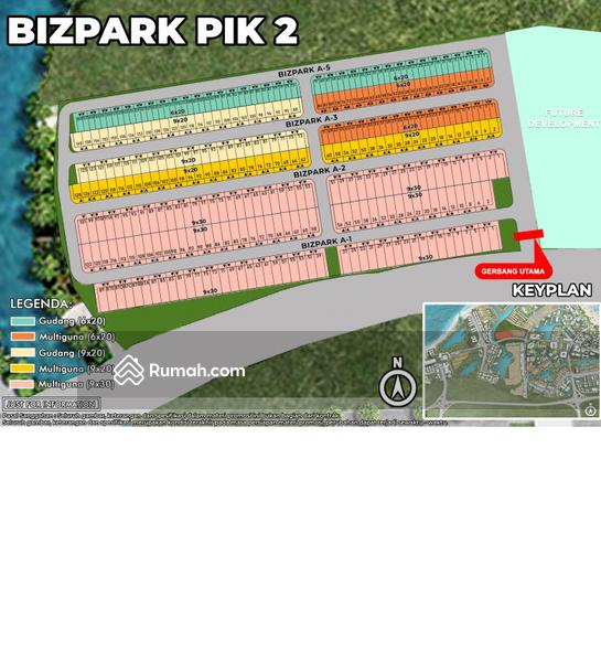 Gudang Biz Park PIK 2 #104246004