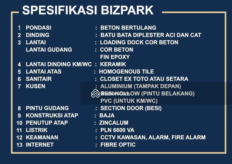 Gudang Biz Park PIK 2 #104246008