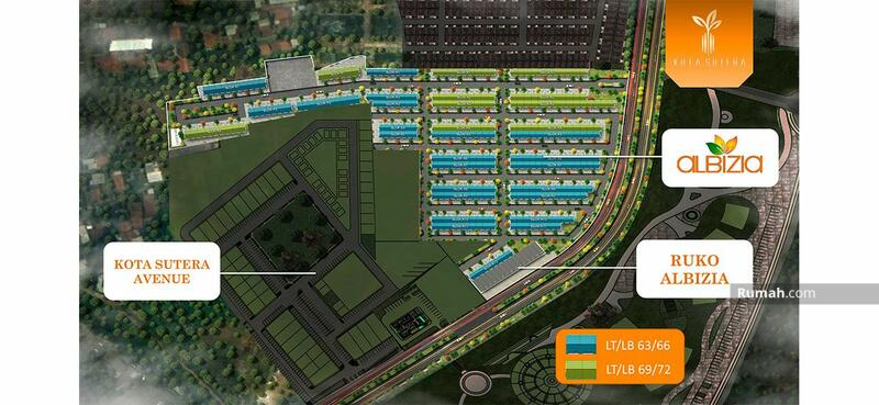 Cluster Alibizia Kota Sutera Rumah Exclusif Mandiri #104261784