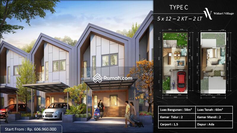 """Rumah 2 Lantai Premium """"WIDARI VILLAGE"""" Strategis di Legok #104266294"""