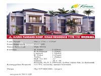Dijual - Jalan Ujung Pandang Komp. Villa Kinan Residence Type 110