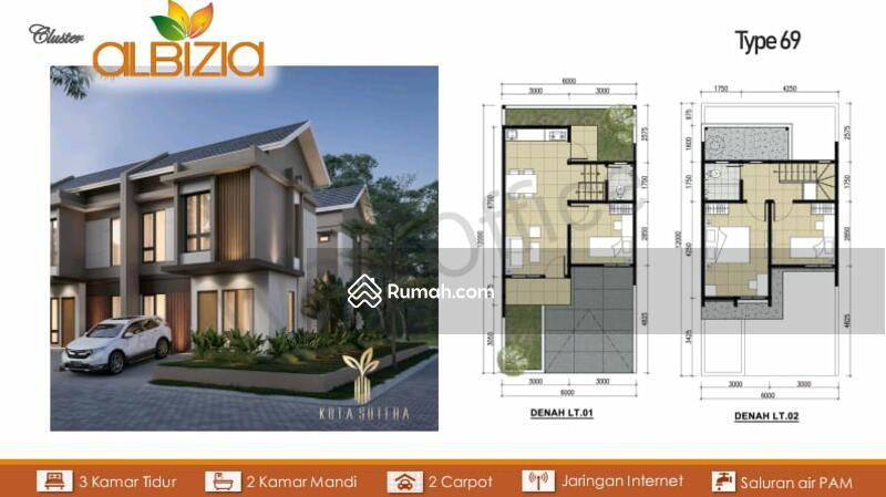 Rumah Milenial Kamar 3 di Kota Sutera Tangerang Rajeg #104291946