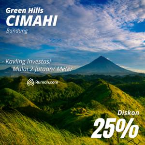 Dijual - Kavling Green Hills Cimahi Diskon 25%, 12x Angsur Tanpa BUnga