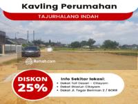Dijual - Raih Diskon Cash 25% Kavling Tajurhalang, 10 Menit Tol Borr