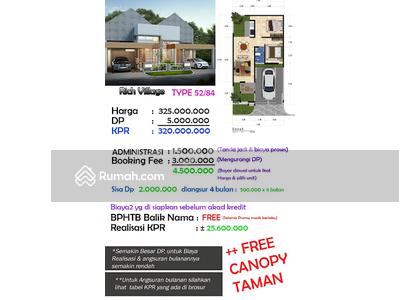 Dijual - Rumah Minimalis di RICH VILLAGE Slawu Jember