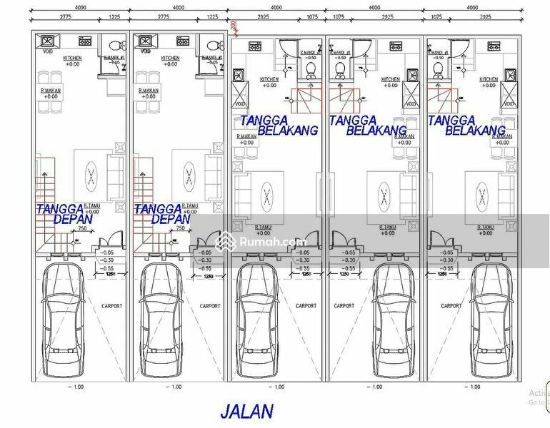 Rumah Grogol Jelambar Tanjung Duren Jakarta Barat Murah Baru Minimalis #104450032
