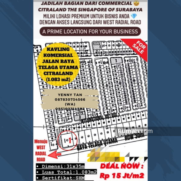 Citraland Raya Telaga Utama #104475080