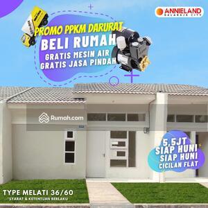Dijual - Dijual Rumah Subsidi Minimalis 5, 5 Juta Siap Huni Perumahan Annieland Lokasi Tangerang