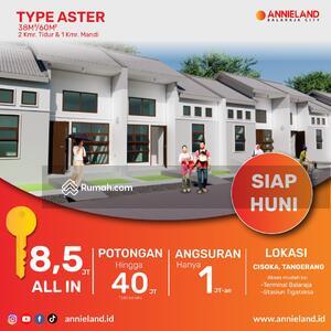 Dijual - Dijual Rumah Subsidi Minimalis 8, 5 Juta Siap Huni Perumahan Annieland Lokasi Tangerang Angsuran 1JT