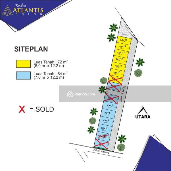 Rumah Type 30/72  2 KT  1 KM  1 Carport  1 Dapur  1Teras Beratap  1 Taman Pribadi  Sistem pembayaran #104709460