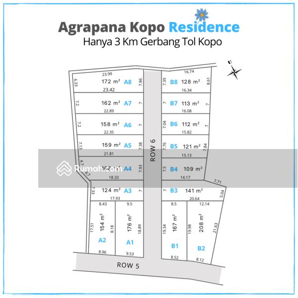 Tanah Kapling Kopo dekat Tol Kopo #104714422