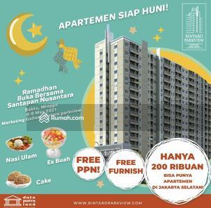 Dijual - Hunian Jakarta Selatan ga sampai 400 juta full furnis free DP free BPHTB