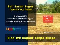 Dijual - Tanah dijual Tajurhalang Bogor