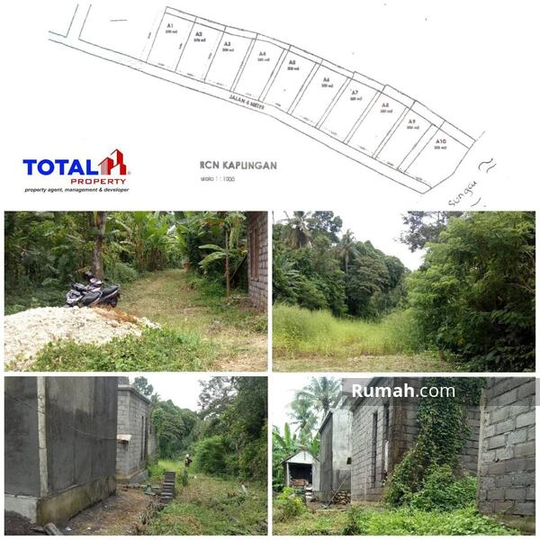 Dijual Tanah Kavling Bonus Bangunan Villa Setengah Jadi di Yeh Gangga, Sudimara Tabanan #104958016