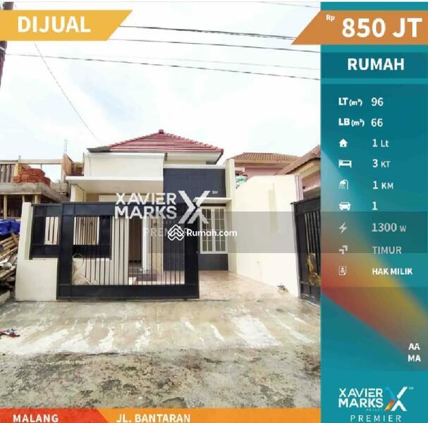 Dijual Rumah Minimalis Jalan Bantaran Lowokwaru #105532998