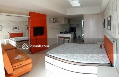 Disewa - Apartemen studio corner furnish tengah kota dijual di apartemen warhol simpang lima semarang tengah