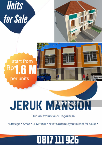 Jeruk Mansion #105019042
