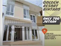 Dijual - Cluster mewah dan Terjangkau dengan budget 700 jtaan Golden resortdi bintaro sektor 7 kebayoran arcd