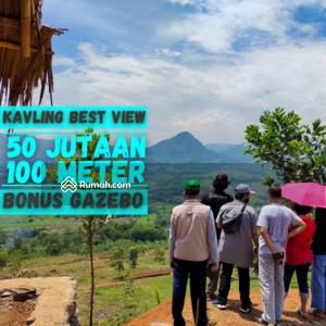 Dijual - Tanah Kavling Murah 55 Juta di Bogor Timur, View Pegunungan dan Sawah, Cocok Untuk Rumah dan Villa