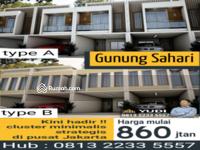 Dijual - Rumah Cluster Gunung sahari Jakarta pusat