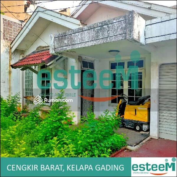 Rumah butuh renovasi jl cengkir barat, kelapa gading, jakarta utara #105193466