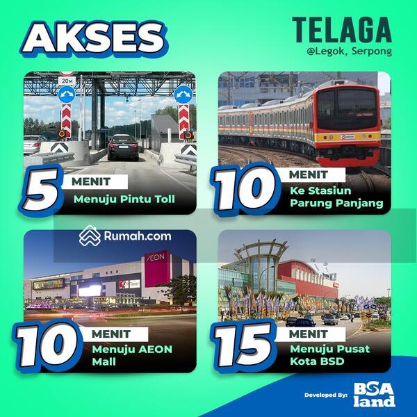 New cluster TONDANO @TELAGA Legok Serpong, dekat Gerbang Utama dan Sport Club, Harga 300 Juta-an #105194110