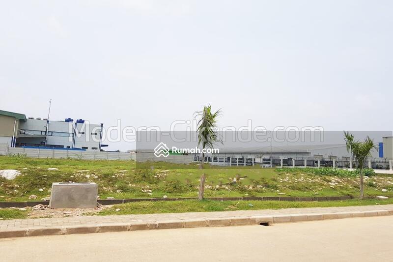 Jual Tanah Industri 4400m² HARGA MURAH di Kawasan Industri Modern Cikande, Serang Banten #105194974