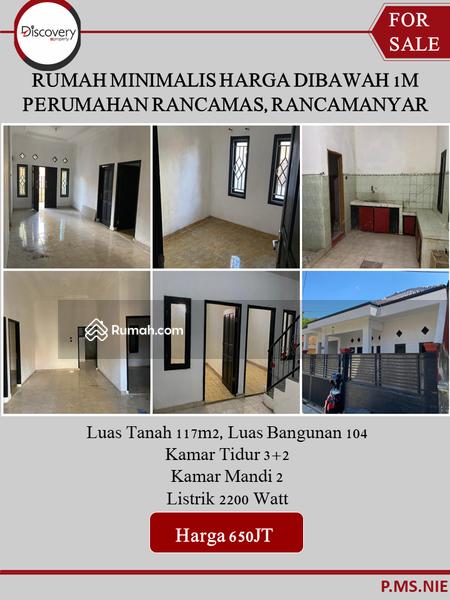 Rumah Minimalis Harga di Bawah 1M Perumaham Rancamas, Rancamanyar #105200426