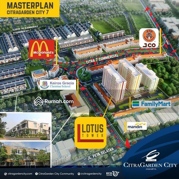 Apartemen Citra Living Jakarta Barat Tanpa DP Free furnish #105202294