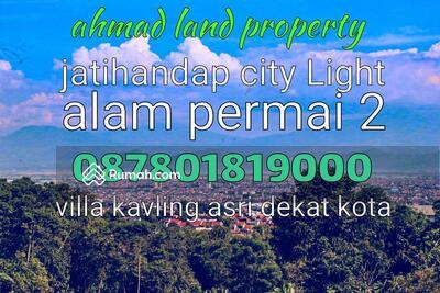 Dijual - jual tanah murah bandung timur dekat kota di kavling samha alam permai 2 ahamad land