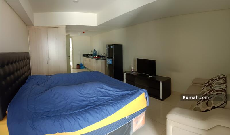 apartemen studio corner furnish tengah kota dijual di apartemen warhol simpang lima semarang tengah #105205072