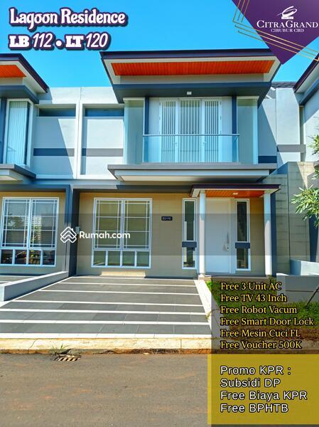 Rumah Baru Fasilitas Lengkap di Cibubur 500m dari Pintu Tol #105211048