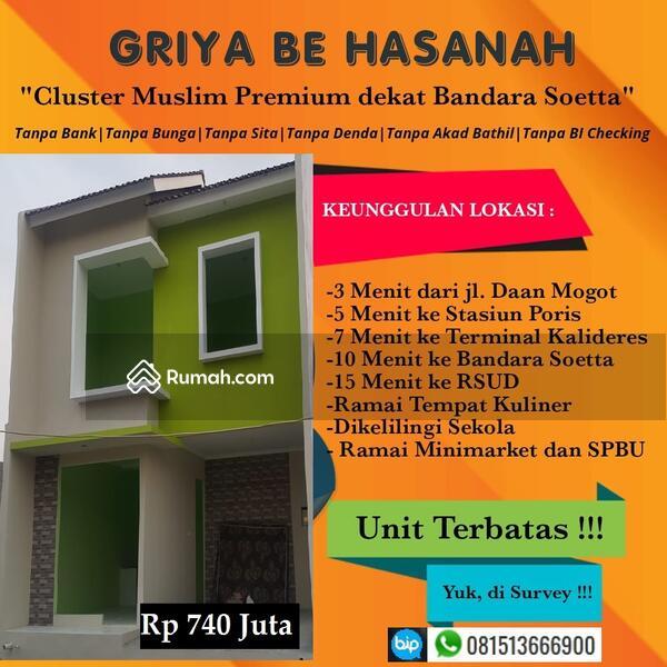 Rumah di Batuceper Perbatasan Jakarta Barat Jalur Daan Mogot terminal Kalideres dan KRL tanah tinggi #105212290