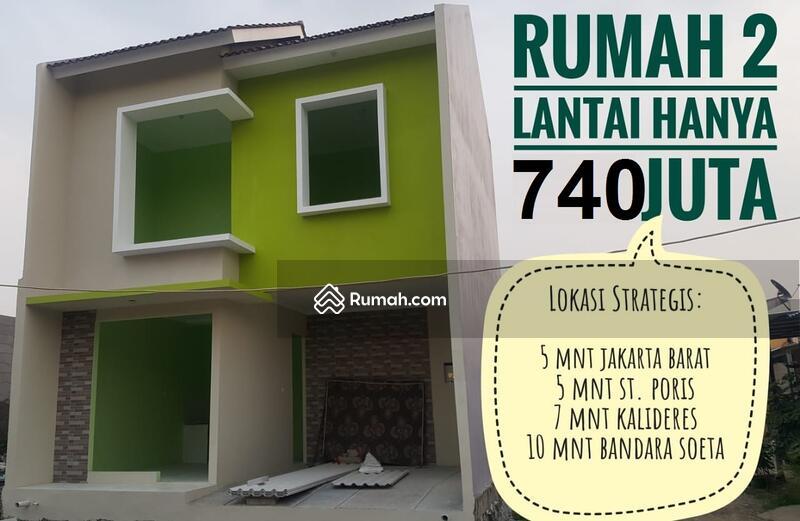 Rumah di Batuceper Perbatasan Jakarta Barat Jalur Daan Mogot terminal Kalideres dan KRL tanah tinggi #105212310