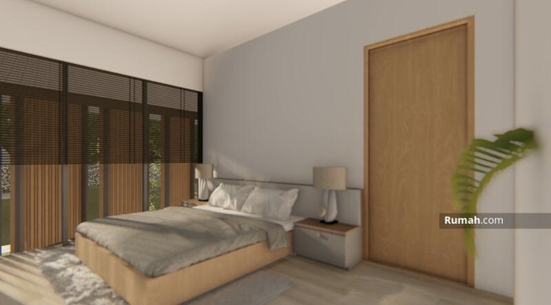 Dijual Rumah Baru Desain Modern Konsep Tropical di Singgasana Pradana #105212686