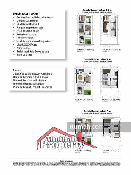 Rumah Premium Design Mewah Unik Strategis Cluster Di Cipayung Cilangkap Jakata Timur #105213646