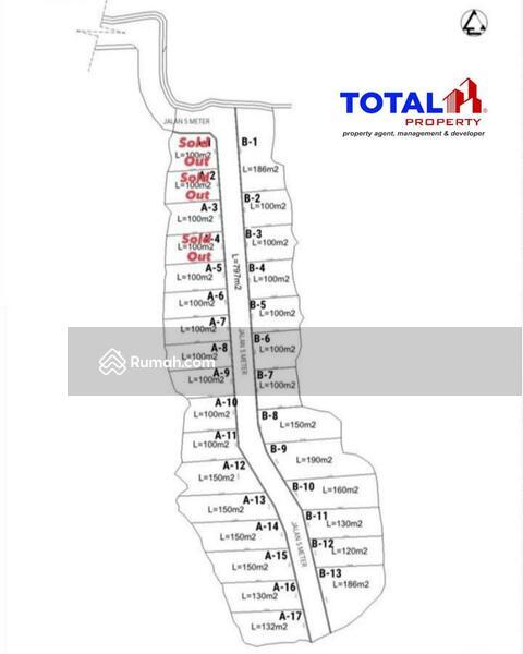 Dijual Tanah Kavling Murah Banget di Pering, Gianyar, Bali #105214552
