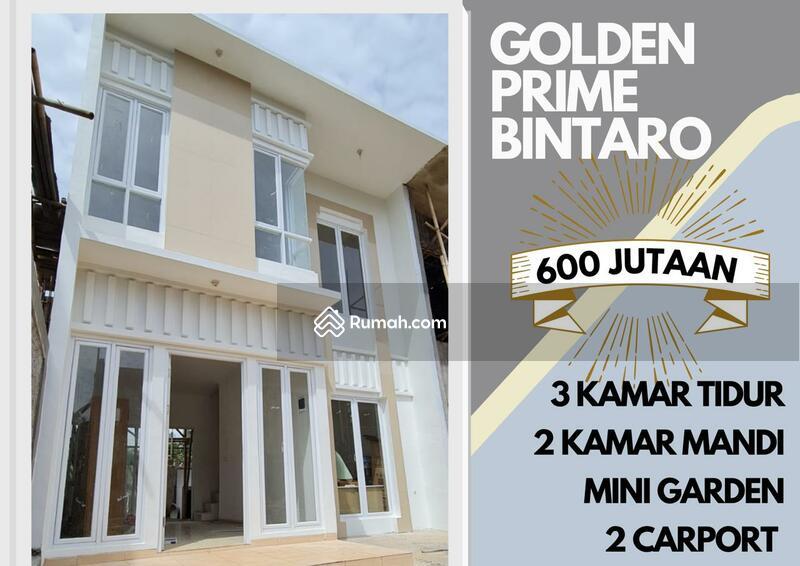 RUMAH 2 LANTAI HANYA 600 JUTAAN DI BINTARO, GOLDEN PRIME BINTARO #105219196