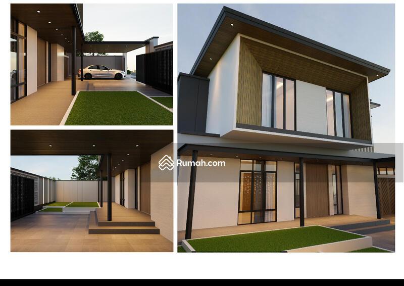 Dijual Rumah 2 Lt Modern Tropis di Soekarno Hatta #105220514