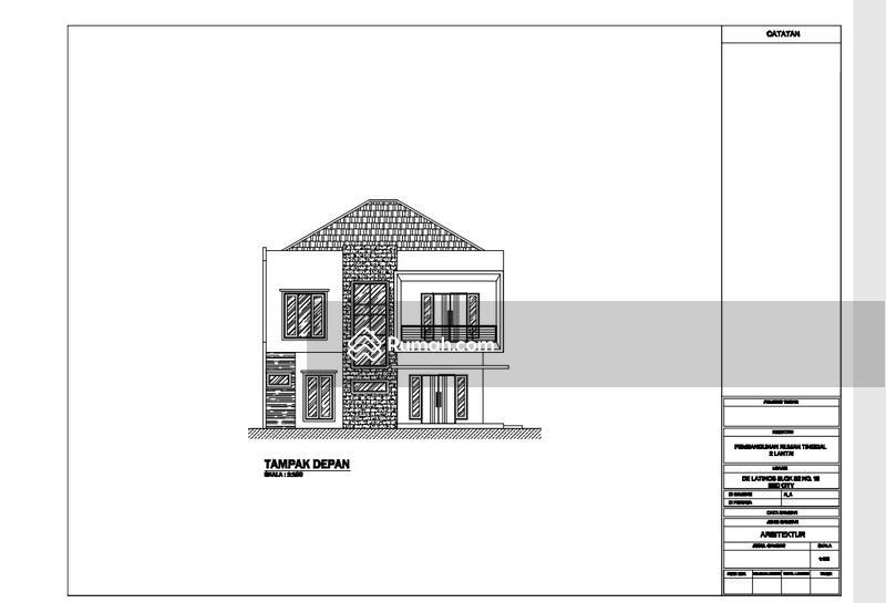 Rumah new Minimalis Modern di BSD Delatinos Cluster De Rio #105221286