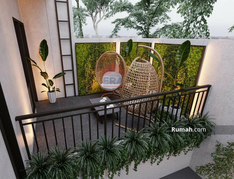 Rumah Minimalis Modern 2 Lantai Di Singgasana Pradana #105994064