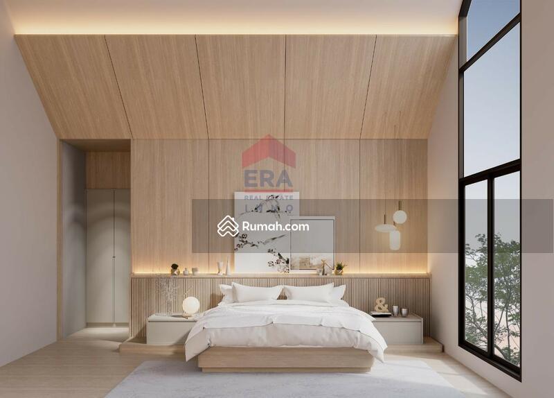 Rumah Minimalis Modern 2 Lantai Di Singgasana Pradana #105994068