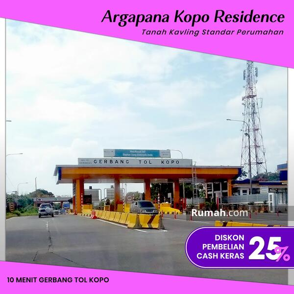 Angsuran 12X Tanpa Bunga Tanah Kavling Bandung Selangkah Gerbang Tol Kopo #105221928