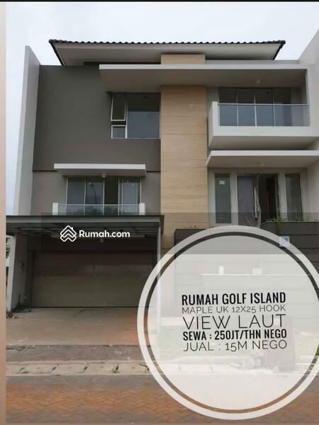 Rumah maple uk 12x25 hoek di golf island bisa sewa #105222504