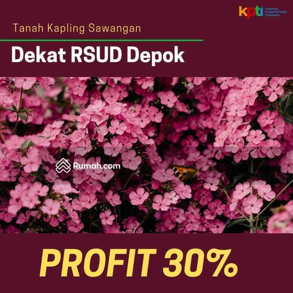 Dijual Kapling Tanah SHM Sawangan Area RSUD Depok: Profit 30% #105223616