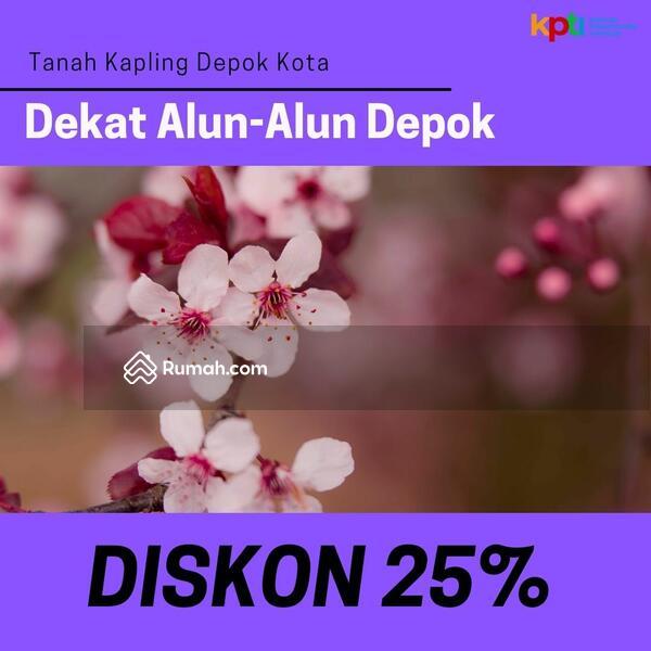 Diskon 25% Minggu Ini: Kapling Cilodong Dekat Alun-Alun Depok #105224346