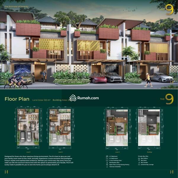Launching Heritage Puri 11 rumah 3lantai bagus start 3M #105230756