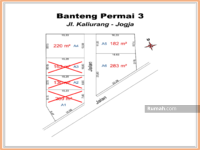 Dijual - Barat Hartono Mall, Legalitas Pekarangan: Tanah Kaliurang