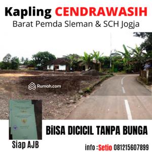 Dijual - Dekat pemda Sleman, kapling tanah luas 155 m2, sertifikat siap ajb di Yogyakarta.